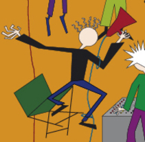 Cartel para un concurso cinematográfico. A Illustration, Character Design, Calligraph, Comic, and Vector illustration project by Carlos Álvarez López         - 14.06.2017