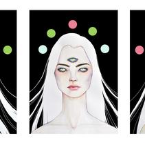 Artwork para 'Luna', Samuel Fuentes Sánchez (2015). Um projeto de Ilustração, Cinema, Vídeo e TV e Animação de Julia Mora Crespo         - 01.10.2015