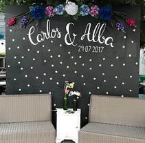 La No boda de Carlos & Alba. A Lettering project by María José Medina López         - 29.07.2017