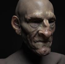 Mi Proyecto del curso: Modelado realista con ZBrush. Un proyecto de 3D, Bellas Artes y Escultura de caskal - 23-08-2017