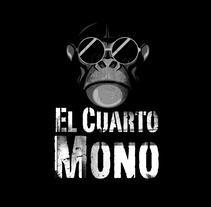 Diseño de logo para El Cuarto Mono.. Um projeto de Br e ing e Identidade de Ruben Bretones         - 29.08.2017