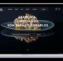 Axarquia restaurant. Un proyecto de Desarrollo Web de David thehobocode - 01-09-2017