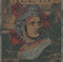 All In - Atlántida. Un proyecto de Ilustración, Diseño gráfico y Collage de Marc Pallàs - 01-09-2017
