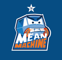 Mean Machine . A Design, Illustration, and Graphic Design project by Che Duran         - 16.09.2017