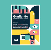 Grafic-Ho. 2017. A Illustration, Animation, and Art Direction project by Fyero Studio  - 18-09-2017