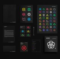 Identidad visual Getxo Enpresa. Un proyecto de Br, ing e Identidad, Diseño editorial, Diseño gráfico y Diseño de iconos de Borja Junguitu         - 18.09.2017