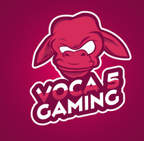 Voca 5 Gaming. A Icon design project by Axel Cervantes - 19-09-2017