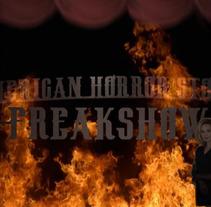 American Horror Story - Freakshow. Um projeto de Motion Graphics de Ignacio González Rico         - 19.09.2017