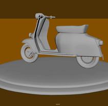motorcycle model. Un proyecto de 3D de Israel  Audelo Ruiz - 20-09-2017