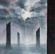 Plateau of Leng. A Illustration, and Painting project by Rubén Megido         - 22.09.2017