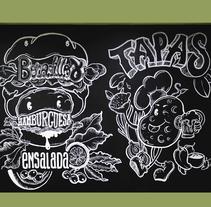 La Tapadera. Un proyecto de Ilustración, Br, ing e Identidad, Bellas Artes, Caligrafía y Lettering de Irene Gala - 27-09-2017