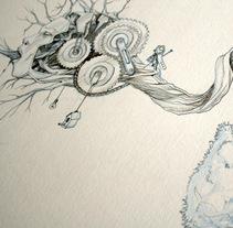 """Modelo propio """"Árbol"""" . Un proyecto de Ilustración y Serigrafía de homoastral         - 28.09.2017"""