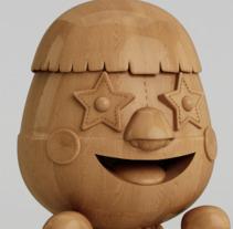 Super Muñeco. Un proyecto de Ilustración, 3D y Diseño de personajes de Adrian  Garcia - 01-10-2017