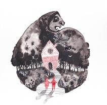 Hansel y Gretel por Luisa Jung. A Illustration project by Luisa Jung - 09-10-2017