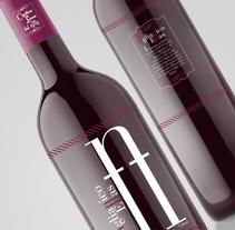 Proyecto de logotipo para marca de vino. A Graphic Design project by Pietrangelo Manzo         - 13.11.2012