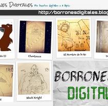 Mis borrones digitales. Un proyecto de Comic de sanmenpi         - 06.08.2016