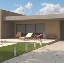 Recontrucción 3D casas individuales, a partir de los planos y memoria de calidades del arquitecto.. Un proyecto de 3D, Arquitectura, Arquitectura de la información y Arquitectura interior de Miguel Angel Calvo - 14-05-2016