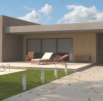 Recontrucción 3D casas individuales, a partir de los planos y memoria de calidades del arquitecto.. Um projeto de 3D, Arquitetura, Arquitetura da informação e Arquitetura de interiores de Miguel Angel Calvo         - 14.05.2016