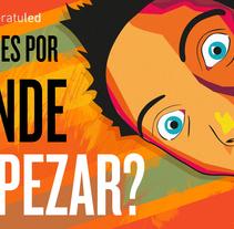 Ilustracion publicitaria. Un proyecto de Diseño, Ilustración, Diseño de personajes, Diseño gráfico e Ilustración vectorial de Luis Miguel  Martínez García         - 12.10.2017