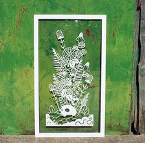 De muerte y vida.. Un proyecto de Ilustración, Artesanía, Paper craft e Ilustración vectorial de Ainara Tavárez         - 20.12.2017