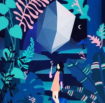 La Fuerza. A Illustration, Animation, and Art Direction project by vero escalante - 15-10-2017