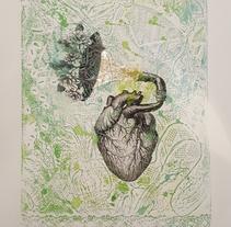"""""""Corazón Musiquero"""". Un proyecto de Ilustración, Pintura y Collage de Cristian Moro         - 16.10.2017"""
