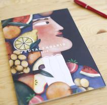 Calendario ilustrado 2018 - Illustrated calendar 2018. Um projeto de Ilustração, Direção de arte, Artesanato, Artes plásticas e Design gráfico de Raquel Feria Legrand - 01-09-2017