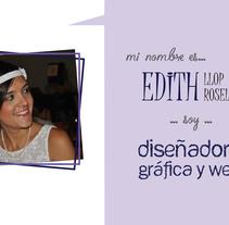 Videocurrículum - Edith Llop. Um projeto de Cinema, Vídeo e TV e Produção de Edith Llop Roselló         - 26.07.2017