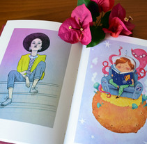 Compilation Books. Um projeto de Ilustração, Design de personagens e Artes plásticas de Ana Varela  - 18-10-2017