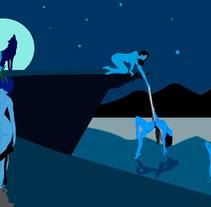 Mujeres bañándose. A Illustration project by Erick  Herrera Velasco         - 19.10.2017