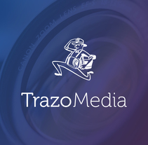 TRAZO MEDIA · Resytling Logo. A Br, ing, Identit, Graphic Design, T, and pograph project by Carlos Salar         - 09.05.2014