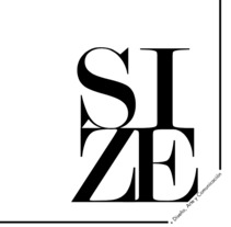 Editorial Naming maquetación de portada e interiores Revista SIZE. A Design, Editorial Design, Fine Art, Graphic Design, and Naming project by Irene Cobos         - 19.10.2017