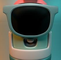 Mi Proyecto del curso: Introducción exprés al 3D: de cero a render con Cinema 4D. A Illustration, and 3D project by Miguel Martacos - 20-10-2017