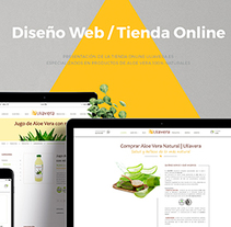 Diseño Tienda Online - Uliavera.es. A Design, Advertising, UI / UX, Graphic Design, and Web Design project by Moisés Miranda         - 22.10.2017
