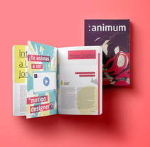 :animum Magazine #1. A Design, Illustration, 3D, Animation, Editorial Design, Graphic Design, and Vector illustration project by Ángel Vera - 14-09-2017