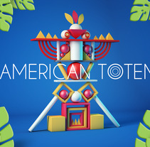 American Totem. A 3D project by Juan David Gallón Muñoz         - 23.10.2017