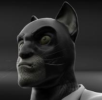 Mi Proyecto del curso: Modelado de personajes en 3D . A 3D project by Ivan Giron         - 14.11.2017
