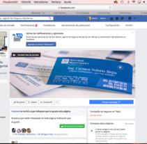Carmen Solorio Agente de Seguros - Manejo de Facebook . A Social Media project by Mario Rojas         - 25.10.2017