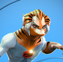 Tigro Thundercats. A 3D project by Dante R.D. - 30-10-2017