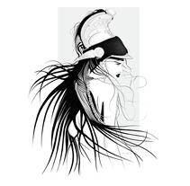 Guerrera. Un proyecto de Diseño, Ilustración, Diseño de personajes, Diseño editorial, Bellas Artes, Diseño gráfico, Comic e Ilustración vectorial de Alicia Latorre         - 04.11.2017