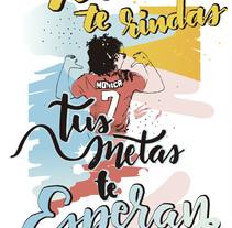 Metas. Um projeto de Ilustração e Lettering de Juan Palacios         - 05.11.2017