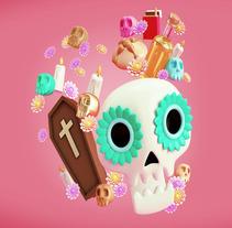 Mi Proyecto del curso: Diseño de personajes en Cinema 4D: del boceto a la impresión 3D. Un proyecto de 3D, Dirección de arte y Diseño de personajes de Guillermo Tejeda - 06-11-2017