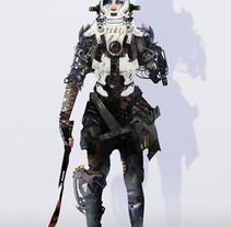creación de personajes: boceto y acabado. Un proyecto de Cine, vídeo, televisión, Diseño de personajes y Diseño de juegos de Alexander  Brox - 14-11-2017