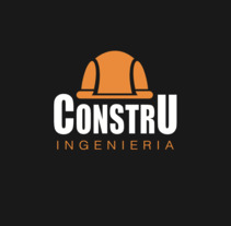ConstruIngenieria Logo. A Design project by Hugo Ranz Ramírez         - 01.06.2017