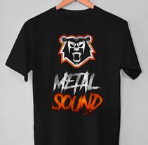 Metal Sound - Webzine. Un proyecto de Diseño, Br, ing e Identidad y Diseño gráfico de Bethany Neumann         - 15.06.2017