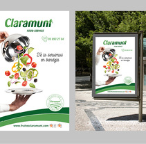 Restyling branding  Claramunt Food Services. A Photograph, Art Direction, Br, ing, Identit, Graphic Design, and Social Media project by Montse Barcons         - 22.11.2017