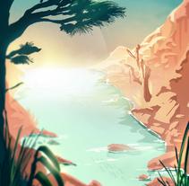 illustration - summer end. A Illustration, Fine Art, and Vector illustration project by Eli Trotta Sanz - 22-11-2017