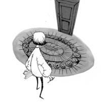 Ilustraciones para Coraline de Neil Gaiman. A Illustration, and Editorial Design project by Kry García - 01-11-2017