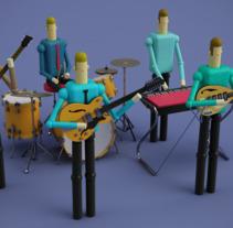 Juguetes de madera. A 3D, and Character Design project by Facundo Emmanuel Mansilla         - 30.11.2017