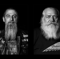 Retrato (II) - Bikers . A Photograph project by José Torres Escobar         - 30.11.2017